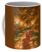 Gold Reflections Coffee Mug