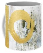 Gold Rush - Abstract Art Coffee Mug by Linda Woods