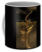 Gold Serpentine  Coffee Mug