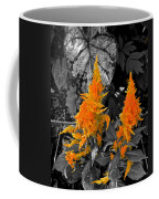Golden Accentuation Coffee Mug