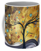 Golden Admiration By Madart Coffee Mug