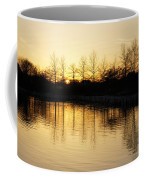 Golden And Peaceful - A Sunset On Lake Ontario In Toronto Canada Coffee Mug