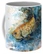 Golden Arowana Coffee Mug by Zaira Dzhaubaeva