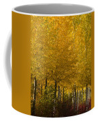 Golden Aspens Coffee Mug by Don Schwartz