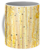 Golden Aspens Utah Coffee Mug