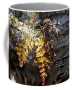 Golden Autumn Fern Coffee Mug