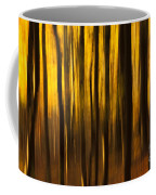 Golden Blur Coffee Mug by Anne Gilbert