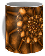 Golden Brown Coffee Mug