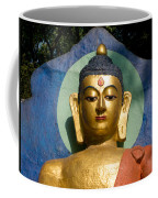 Golden Buddha Coffee Mug by Nila Newsom
