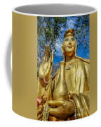 Golden Buddha Statue Coffee Mug