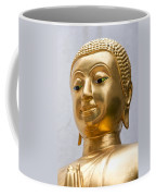 Golden Buddha Statue Coffee Mug by Antony McAulay
