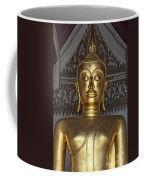 Golden Buddha Temple Statue Coffee Mug by Antony McAulay