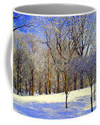 Golden Central Park Coffee Mug