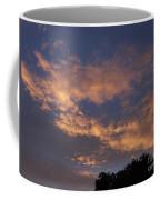 Golden Cloud Sunset Coffee Mug