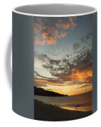 Golden Clouds At Grand Anse Coffee Mug