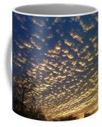 Golden Clouds Coffee Mug