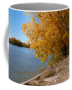 Golden Cottonwoods Coffee Mug