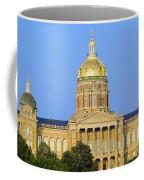 Golden Dome Of Iowa State Capital Coffee Mug
