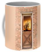 Golden Doorway Window View Coffee Mug