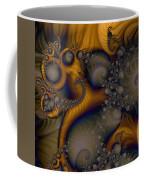 Golden Dream Of Fossils Coffee Mug