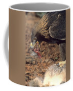 Golden Eagle Eats Coffee Mug