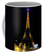 Golden Eiffel Tower  Coffee Mug