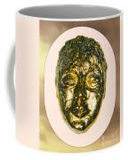 Golden Face From Degas Dancer Coffee Mug