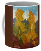 Golden Fall Coffee Mug