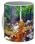Golden Ferns Coffee Mug