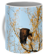 Golden Flight In April Coffee Mug