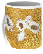 Golden Flow Stream Coffee Mug
