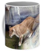 Golden Fur Lioness Coffee Mug