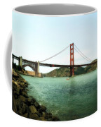 Golden Gate Bridge 2.0 Coffee Mug by Michelle Calkins