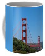 Golden Gate Bridge In Spring Coffee Mug
