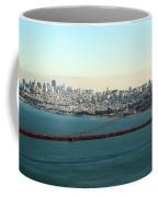 Golden Gate Bridge Coffee Mug by Linda Woods