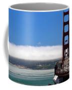 Golden Gate Bridge Looking South Coffee Mug