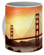 Golden Gate Bridge San Francisco California Coffee Mug