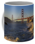 Golden Gate Bridge Sunset Study 2 Coffee Mug