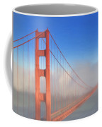 Golden Gate In Morning Fog Coffee Mug