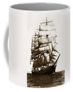Golden Gate Tall Ship Circa 1905 Coffee Mug