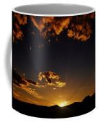 Golden Glow Coffee Mug