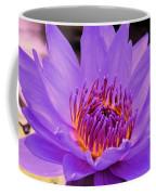Golden Glow Of The Lavender Lotus Coffee Mug