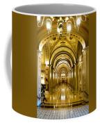 Golden Government Coffee Mug