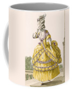 Golden Gown, Engraved By Dupin, Plate Coffee Mug