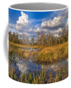 Golden Grasses Coffee Mug by Debra and Dave Vanderlaan