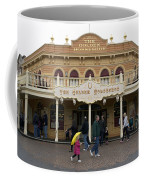 Golden Horseshoe Frontierland Disneyland Coffee Mug