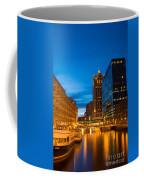 Golden Hour Milwaukee River Coffee Mug