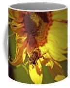 Golden Hoverfly 2 Coffee Mug