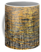 Golden Lake Ripples Coffee Mug by James BO  Insogna