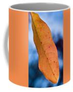 Golden Lanceolate Leaf Coffee Mug